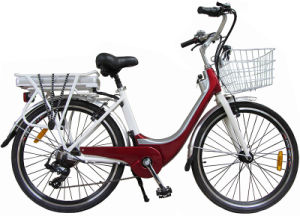 Cheap City Electric Bicycle with Steel Frame pictures & photos