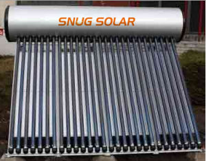 Solar Heating Water with Aluminium Reflector pictures & photos