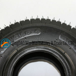 Pneumatic Rubber Wheel for Wheelbarrow 4.10/3.50-4 pictures & photos