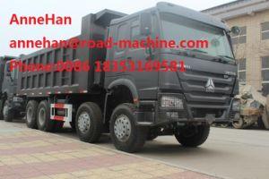 HOWO 8X4 Heavy Duty Dump Truck Euro II for Unloading Building Materials
