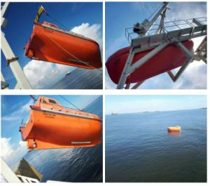 Hot Supply Partially Enclosed Lifeboat for Sale pictures & photos