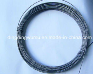 Pure Wolfram Filament for Vacuum Coating Heater pictures & photos