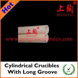 Cylindrical Crucibles with Long Groove pictures & photos