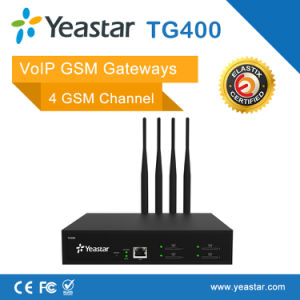 Yeastar 4 Channel GSM VoIP Gateway with 4 SIM Card for GSM Terminal pictures & photos