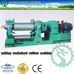 Making Reclaimed Rubber Machine (Tops-480) pictures & photos
