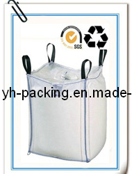 eco-friendly pp plastic woven bag with handle