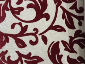 Nylon Flock on Woven Fabric Flocked Fabric Popular in Russia (F004) pictures & photos