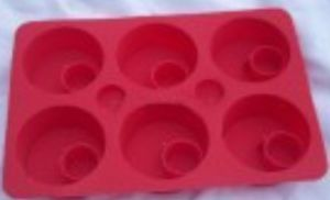 Bow Fondant Mould Silicone Cake/Chocolate Decoration Mold (TV186) pictures & photos