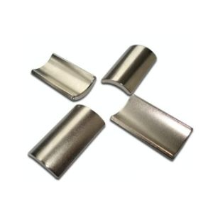 N35 Industrial Neodymium Segment Motor Magnet