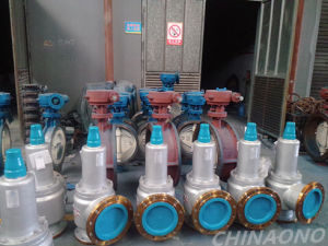 Carbon Steel Wcb Flnage Screw Type Full Close Safety Valve pictures & photos