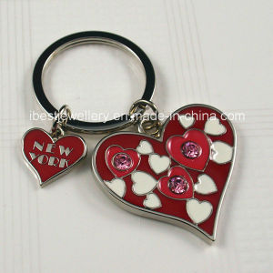 Promotional Gifts- Metal Color Enamel Key Chain for New York (KA004) pictures & photos