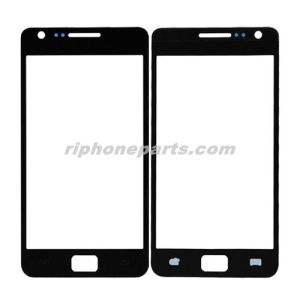 Mobile Phone Front Glass for Samsung Galaxy S2 I9100 Black