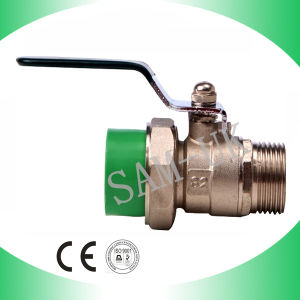 Durable Crazy Selling PPR Pipe Fittings Brass Ball Valve pictures & photos