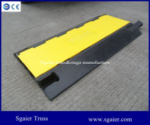 3 Channel Cable Protector Ramp Warehouse Electrical Cover Wire Protector Ramp pictures & photos