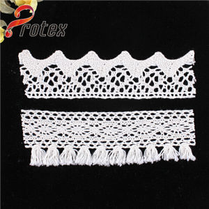 2015 Wholesale White or Ivory Embroidery Border Lace Trimming pictures & photos