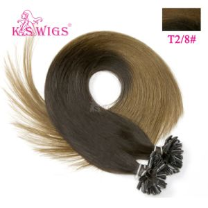Top Quality Keratin Hair Extension U-Tip Remy Hair pictures & photos