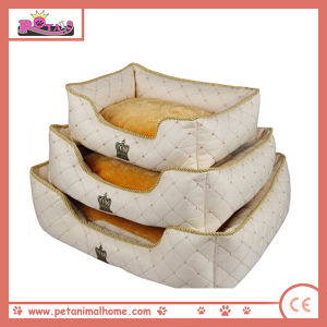 Pet Bed Whit Ccrown Pattern pictures & photos