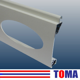 77mm Aluminum Single Layer Slat, Roller Shutter Slat (TMS77C) pictures & photos