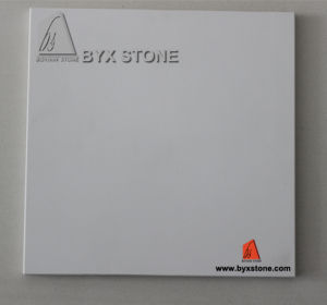 Pure White Artificial Quartz Stone for Tile and Countertop pictures & photos