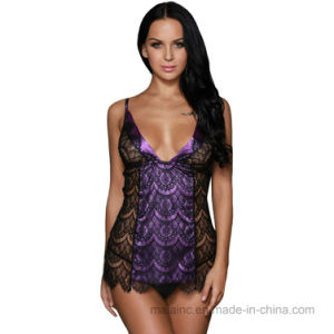 2017 New Lace Ladies Homewear pictures & photos