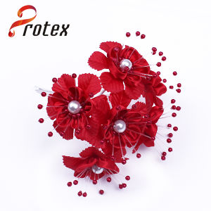 Wholesale Decorative Cheap Price Artificial Flower with Red Color pictures & photos