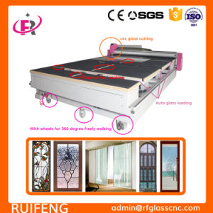 Ce Certificate Multi Functions Automatic CNC Glass Cutting Machine for Shapes pictures & photos