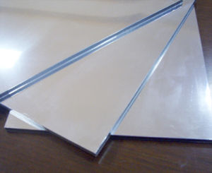 Decoration and Construction 0.5mm Thick Aluminum Sheets From China Manufacturer pictures & photos