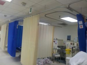 100% Non-Woven Hospital Disposable Cubicle Curtains pictures & photos