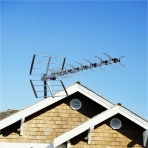X-Type Fishbone UHF High Gain Antenna with Foldable Directors (AV-43XU)