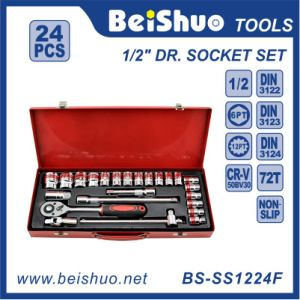 "High Grade 24PCS 1/2"" Socket Set pictures & photos"