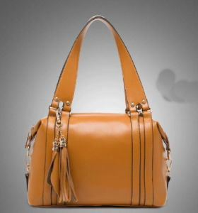 Offering High Quality Leather Women Shoulder Bag (H80466) pictures & photos