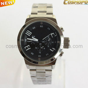 Customized Logo Stainless Steel Watch for Men (SA1153)