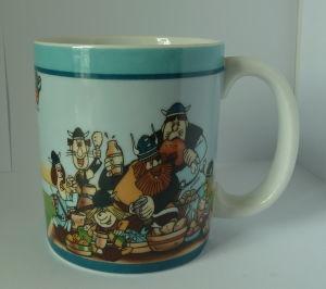 Porcelain Milk Mug pictures & photos