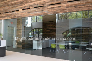 New Frameless Glass Sliding Door pictures & photos