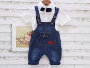 Boys Denim Bib Pants Fashion Children Jeans Overalls pictures & photos