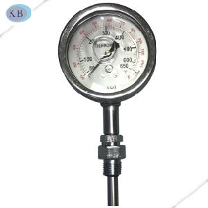 Exhaust Gas Thermometer Silicone Oil Filled 50+650c pictures & photos