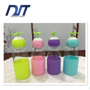 Wholesale Promotional Gift Travel High Quality Glass Water Bottle pictures & photos