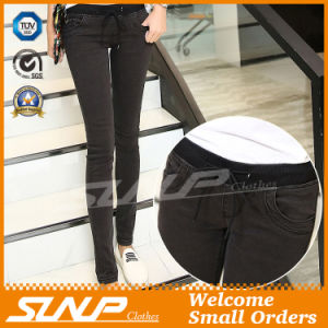 Ladies Sexy Low-Rise Fashion Stretch Skinny Jeans Clothes