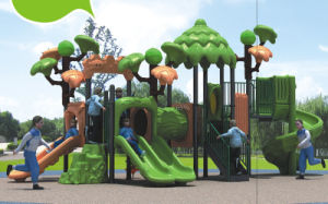 2015 Hot Selling Outdoor Playground Slide with GS and TUV Certificate (QQ14013-1 pictures & photos