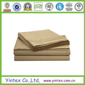 Wrinkle Free Microfiber Bed Sheet pictures & photos