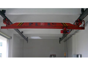 Electric Single Beam Suspension Overhead Traveling Crane (LX Model)