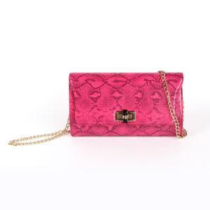Fashion Ladies Designer Snake Leather Clutch Bag/Wallet (S2024) pictures & photos