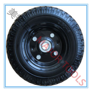 High Quality PU Foam Wheel Steel or Plastic Rim 250-4 PU Foam Wheel pictures & photos