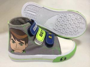 Latest Fashion Children MID-Calf Brand Canvas Shoes pictures & photos