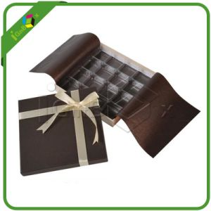 Decorative Fancy Paper Chocolate Box for Chocolate Packaging pictures & photos