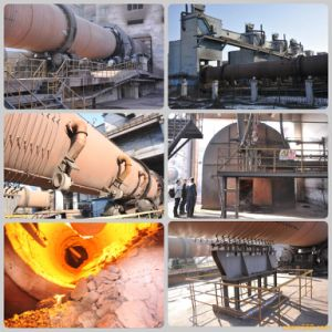 Limestone Dolomite and Bauxite Calcination Rotary Kiln Manufacturer pictures & photos