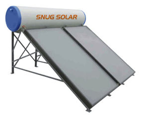 300L Flat Plate Solar Water Heater with CE Certificate pictures & photos