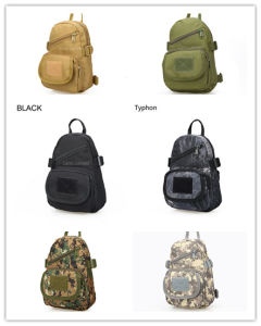 Military Hikingtactical Single Shoulder Bag Climbing Travel Backpack Waterproof Tactical Bag Camo Handbag Cl5-0060 pictures & photos