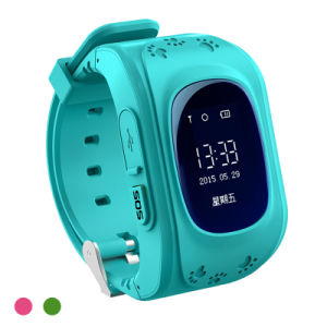 Q50 Sos GPS Tracker Kids Smart Watch for Android Ios pictures & photos