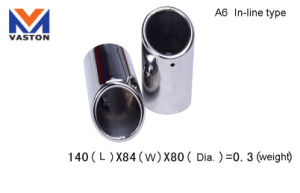 Exhaust/Muffler Pipe, Made of Stainless Steel 304b pictures & photos